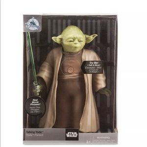 Disney Authentic Yoda Talking Action